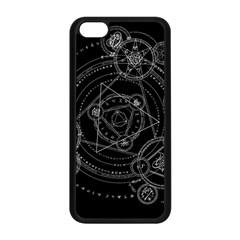 Formal Magic Circle Apple Iphone 5c Seamless Case (black)