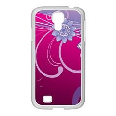 Love Flowers Samsung Galaxy S4 I9500/ I9505 Case (white)