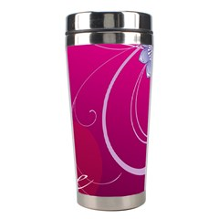 Love Flowers Stainless Steel Travel Tumblers