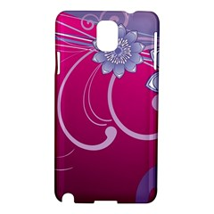 Love Flowers Samsung Galaxy Note 3 N9005 Hardshell Case
