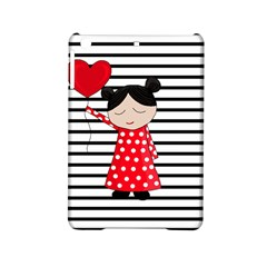 Valentines Day Girl 2 Ipad Mini 2 Hardshell Cases by Valentinaart