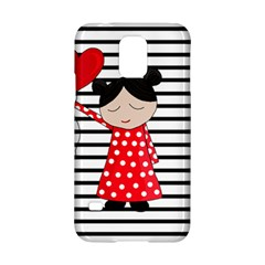 Valentines Day Girl 2 Samsung Galaxy S5 Hardshell Case  by Valentinaart