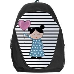 Valentines Day Design Backpack Bag by Valentinaart