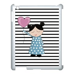 Valentines Day Design Apple Ipad 3/4 Case (white) by Valentinaart