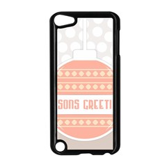 Merry Christmas Apple Ipod Touch 5 Case (black) by Nexatart