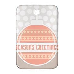 Merry Christmas Samsung Galaxy Note 8 0 N5100 Hardshell Case