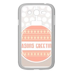 Merry Christmas Samsung Galaxy Grand Duos I9082 Case (white) by Nexatart