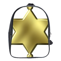 Sheriff Badge Clip Art School Bags (xl)