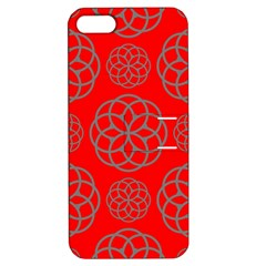 Geometric Circles Seamless Pattern Apple Iphone 5 Hardshell Case With Stand