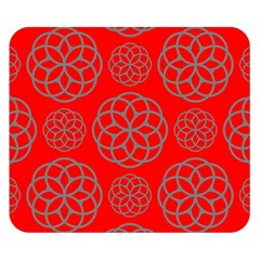 Geometric Circles Seamless Pattern Double Sided Flano Blanket (small)