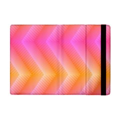 Pattern Background Pink Orange Apple Ipad Mini Flip Case by Nexatart