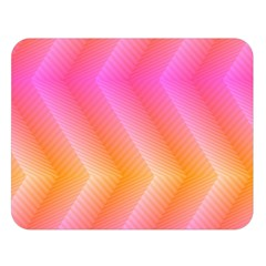 Pattern Background Pink Orange Double Sided Flano Blanket (large)  by Nexatart