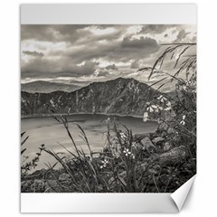 Quilotoa Lake Latacunga Ecuador Canvas 8  X 10  by dflcprints