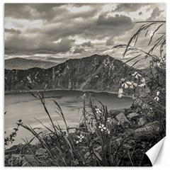 Quilotoa Lake Latacunga Ecuador Canvas 12  X 12   by dflcprints