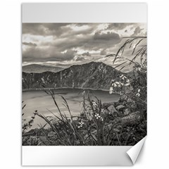 Quilotoa Lake Latacunga Ecuador Canvas 12  X 16   by dflcprints
