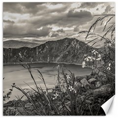 Quilotoa Lake Latacunga Ecuador Canvas 16  X 16   by dflcprints