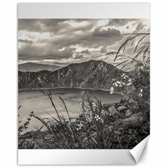 Quilotoa Lake Latacunga Ecuador Canvas 16  X 20   by dflcprints