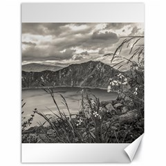 Quilotoa Lake Latacunga Ecuador Canvas 18  X 24   by dflcprints