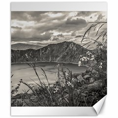 Quilotoa Lake Latacunga Ecuador Canvas 20  X 24   by dflcprints