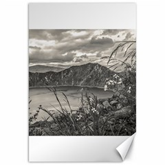 Quilotoa Lake Latacunga Ecuador Canvas 20  X 30   by dflcprints