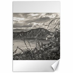 Quilotoa Lake Latacunga Ecuador Canvas 24  X 36  by dflcprints