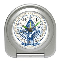 Presidential Inauguration Usa Republican President Trump Pence 2017 Logo Travel Alarm Clocks