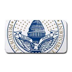Presidential Inauguration USA Republican President Trump Pence 2017 Logo Medium Bar Mats by yoursparklingshop