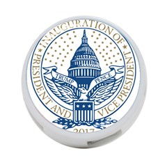 Presidential Inauguration Usa Republican President Trump Pence 2017 Logo 4 Port Usb Hub (one Side)