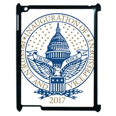 Presidential Inauguration USA Republican President Trump Pence 2017 Logo Apple iPad 2 Case (Black) by yoursparklingshop