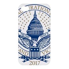 Presidential Inauguration Usa Republican President Trump Pence 2017 Logo Apple Iphone 4/4s Hardshell Case