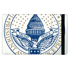 Presidential Inauguration USA Republican President Trump Pence 2017 Logo Apple iPad 2 Flip Case by yoursparklingshop