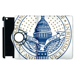 Presidential Inauguration Usa Republican President Trump Pence 2017 Logo Apple Ipad 3/4 Flip 360 Case