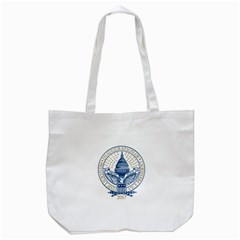 Presidential Inauguration Republican President Trump Pence 2017 Logo Tote Bag (white)