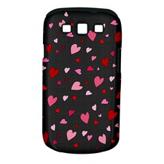 Hearts Pattern Samsung Galaxy S Iii Classic Hardshell Case (pc+silicone) by Valentinaart