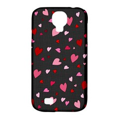Hearts Pattern Samsung Galaxy S4 Classic Hardshell Case (pc+silicone) by Valentinaart