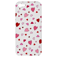 Valentine s Day Hearts Apple Iphone 5 Hardshell Case by Valentinaart