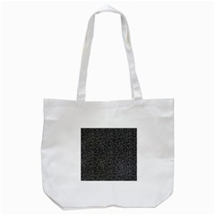 Gray Texture Tote Bag (white)