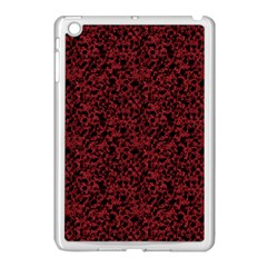 Red Coral Pattern Apple Ipad Mini Case (white) by Valentinaart