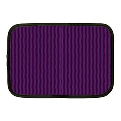 Purple Texture Netbook Case (medium)  by Valentinaart