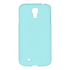 Light Blue Texture Samsung Galaxy S4 I9500/i9505 Hardshell Case by Valentinaart