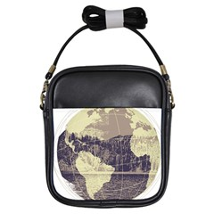 River Globe Girls Sling Bags by MTNDesignco