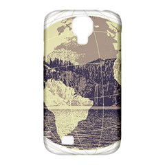 River Globe Samsung Galaxy S4 Classic Hardshell Case (pc+silicone)