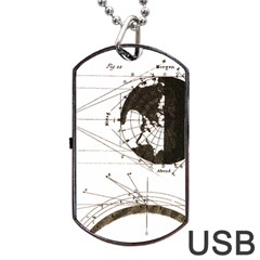 Planetary Equations Dog Tag Usb Flash (one Side) by MTNDesignco