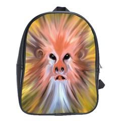Monster Ghost Horror Face School Bags (xl)