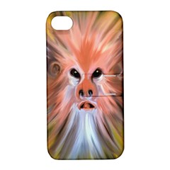 Monster Ghost Horror Face Apple Iphone 4/4s Hardshell Case With Stand by Nexatart