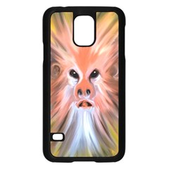 Monster Ghost Horror Face Samsung Galaxy S5 Case (black) by Nexatart