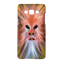 Monster Ghost Horror Face Samsung Galaxy A5 Hardshell Case  by Nexatart