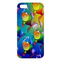 Fish Pattern Iphone 5s/ Se Premium Hardshell Case