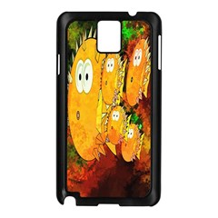 Abstract Fish Artwork Digital Art Samsung Galaxy Note 3 N9005 Case (black)