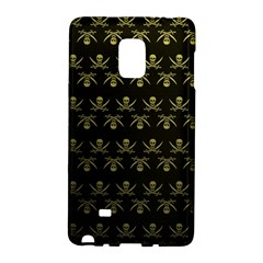 Abstract Skulls Death Pattern Galaxy Note Edge